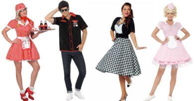 1950erne kostume til voksne 390x205 - 1950erne kostume til voksne
