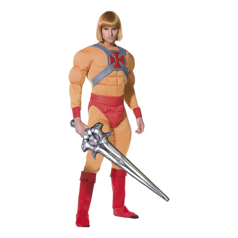 himan kostume kostume voksne 80er fest kostume aktionhelt fra 80erne kostume