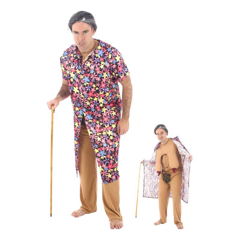 gammel dame kostume til mænd blotter farmor kostume til mænd dragqueen kostume