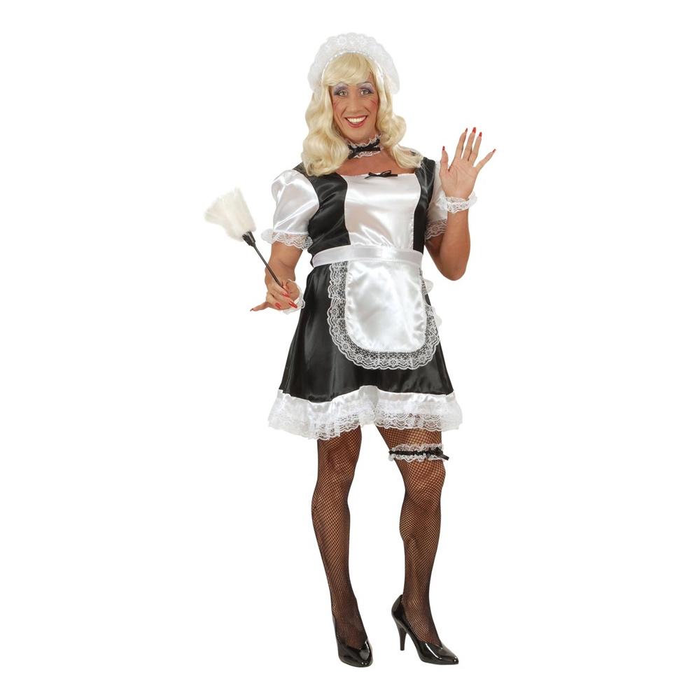 fransk stuepige kostume til mænd dragqueen kostume til mænd kostume til pride kostume til karneval kostume til polterabend