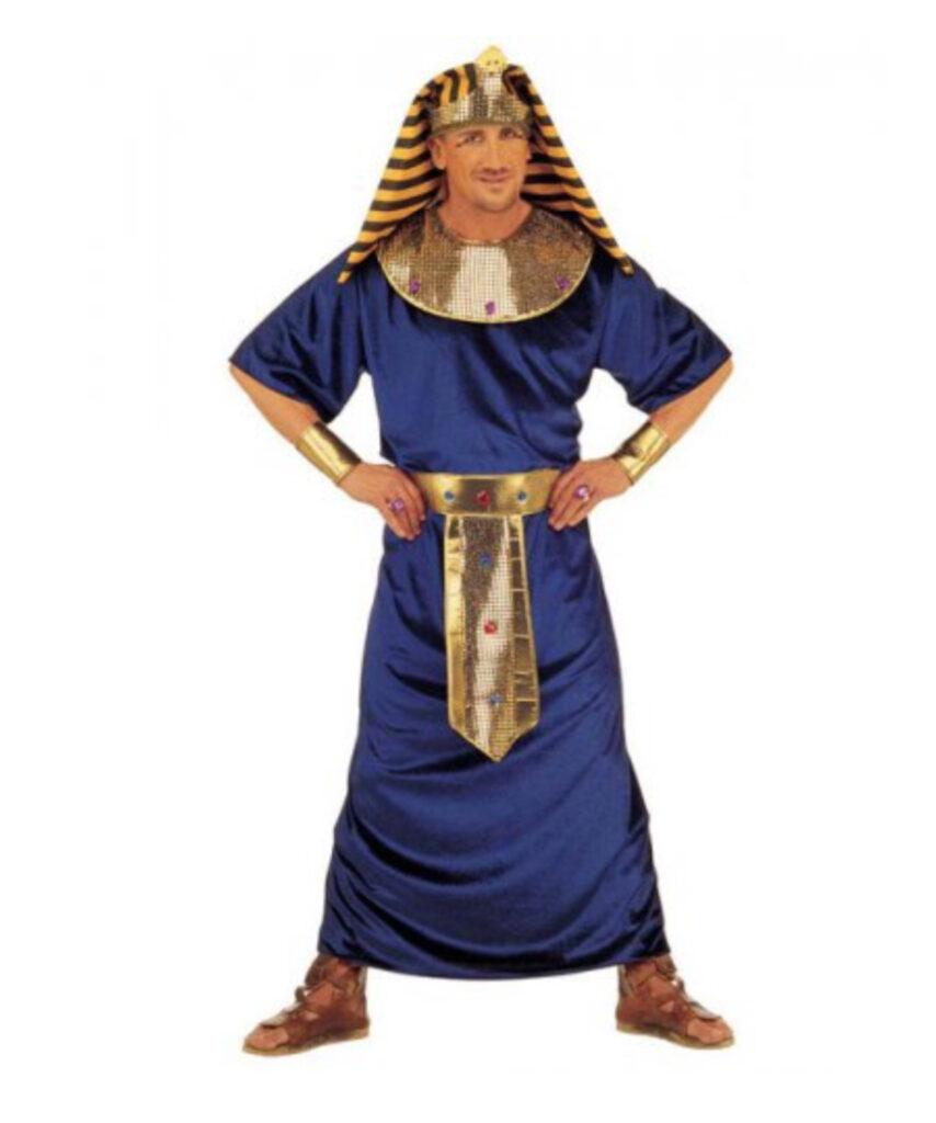 kongeblå kostume egyptisk kostume
