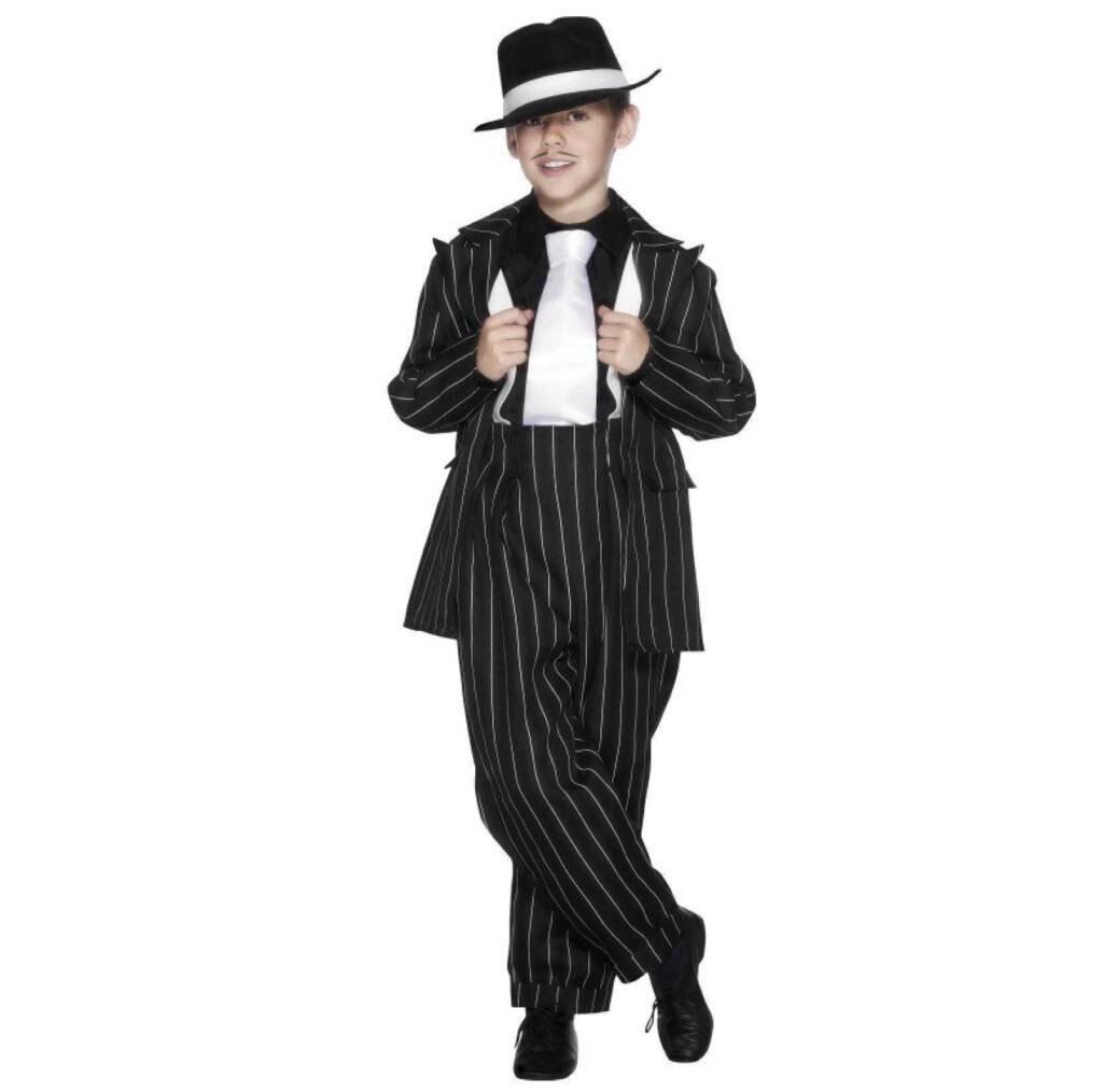 ganster kostume til børn 1950erne gangster børnekostume mafia kostume til børn