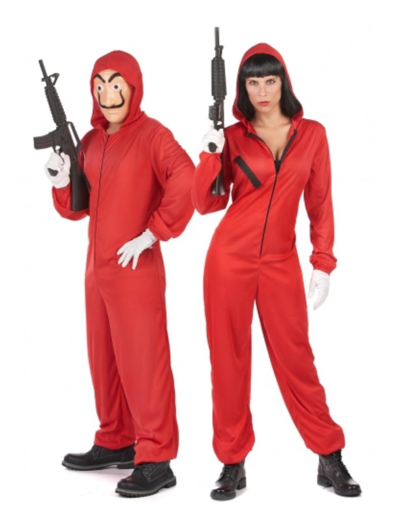 Bankrøver kostume til par  796x1024 - Par kostumer til Karneval