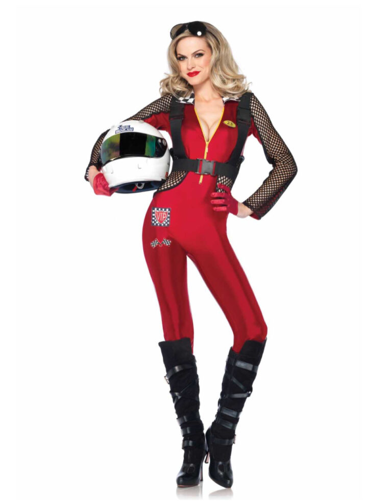 kvindelig racerkører kostume - KostumeUniverset