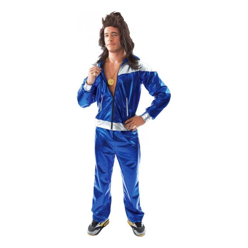 80er mand kostume 80er joggingdragt kostume til 80er fest