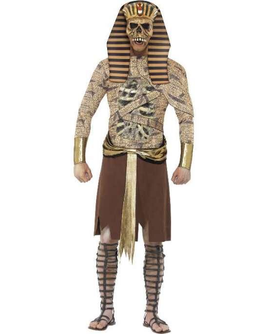 Farao mumie kostume - Farao kostume til voksne