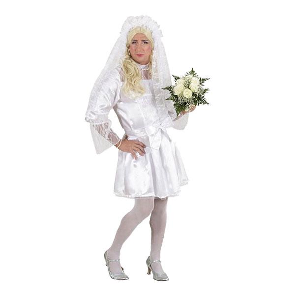 Mandlig brud kostume - Dragqueen kostume til polterabend eller karneval