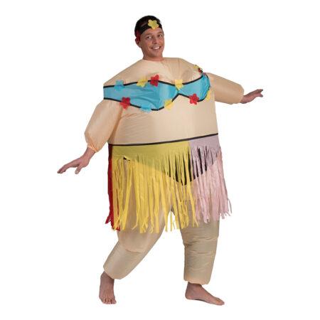Oppusteligt Hawaii kostume 450x450 - Hawaii kostume til voksne