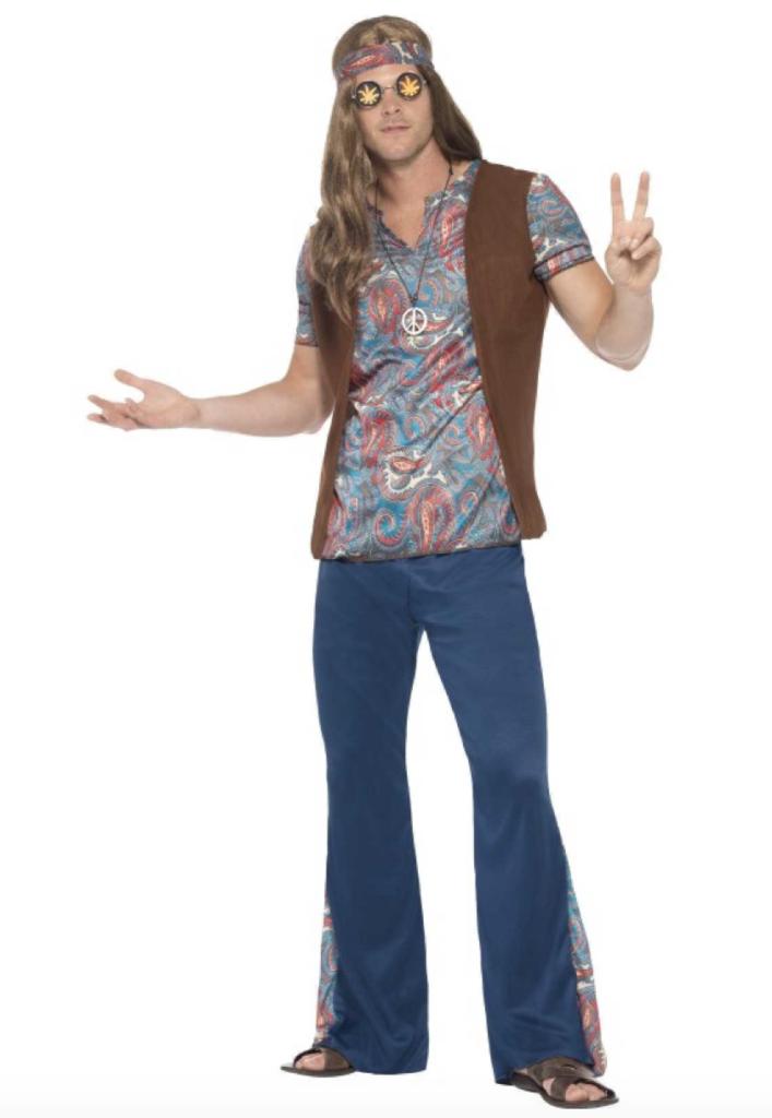 Skærmbillede 2019 04 27 kl. 10.15.38 707x1024 - Hippie kostume til mænd