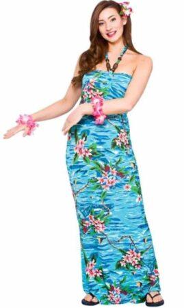 hawaii kjole hawaii kostume hawaii udklædning til kvinder
