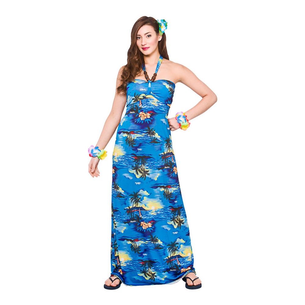 hawaii kjole til temafest - Hawaii kostume til voksne