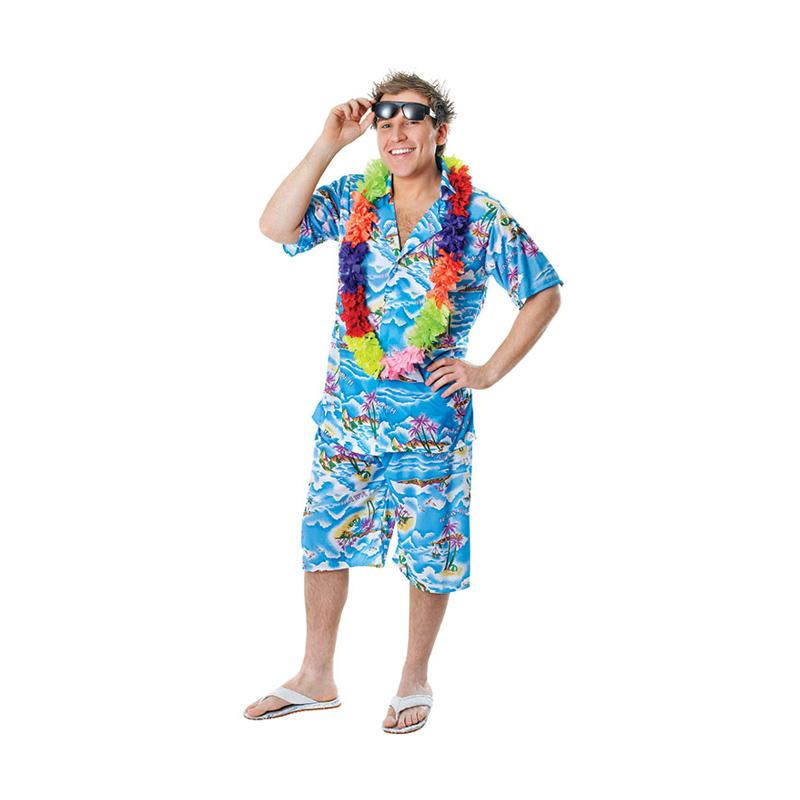 hawaii kostume til mænd - Hawaii kostume til voksne