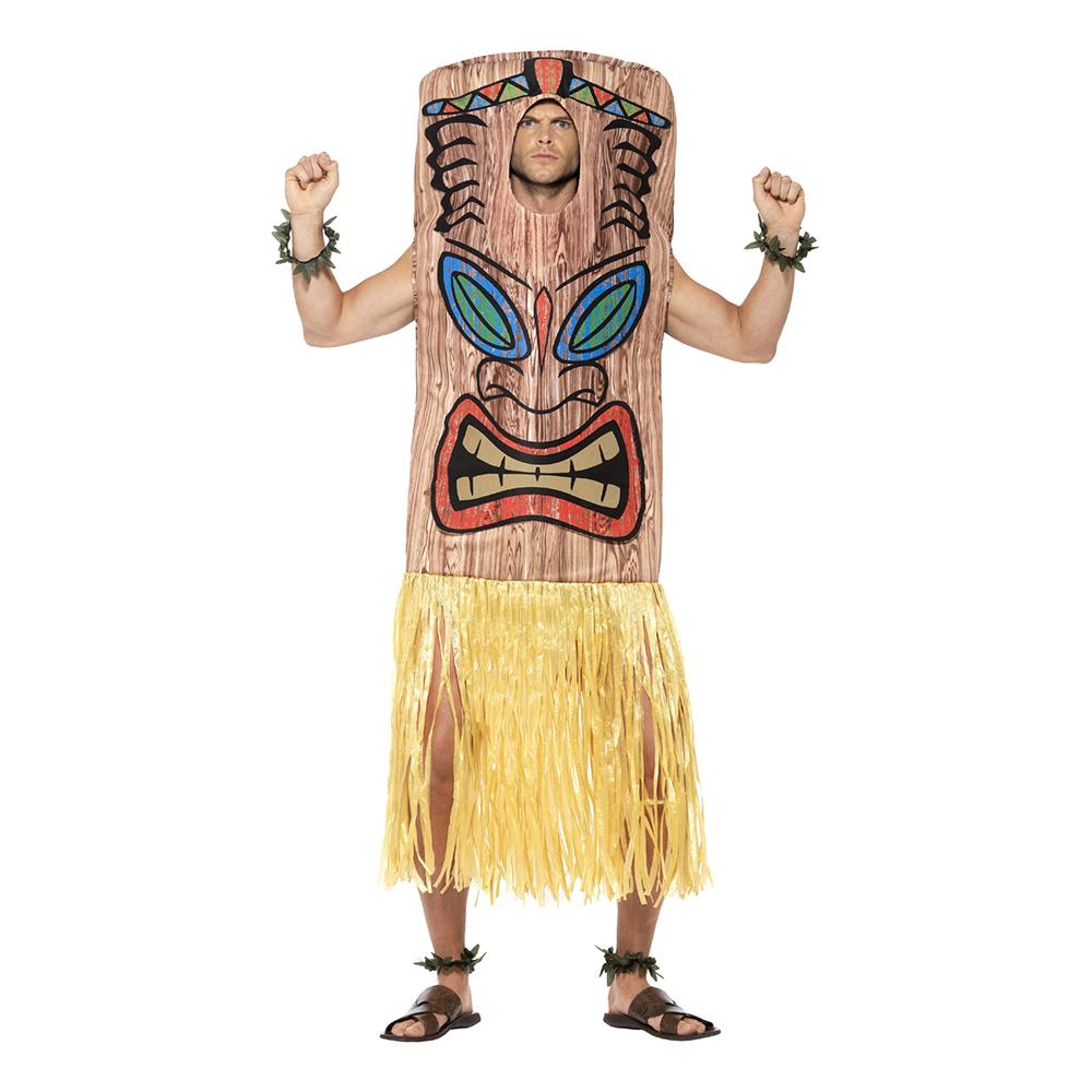 tiki totem kostume til voksne - Hawaii kostume til voksne
