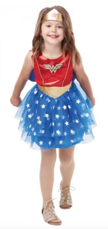 wonder woman børnekostume 213x450 - Wonder Woman kostume til børn
