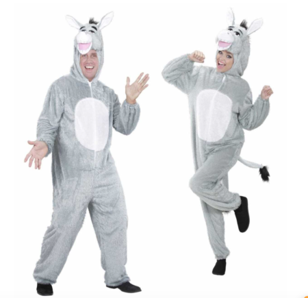 sel kostume til voksne 450x435 - Shrek kostume til voksne