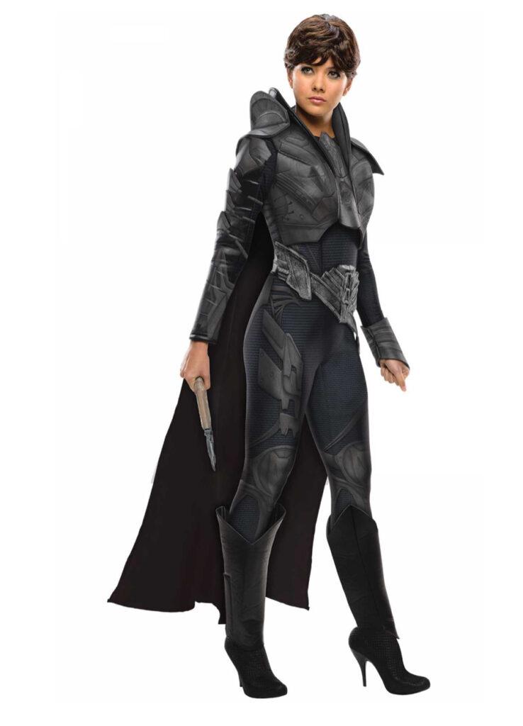 faora kostume til kvinder superman kostume til voksne