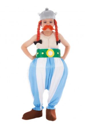 klassisk obelix børnekostume luksus obelix kostume til børn
