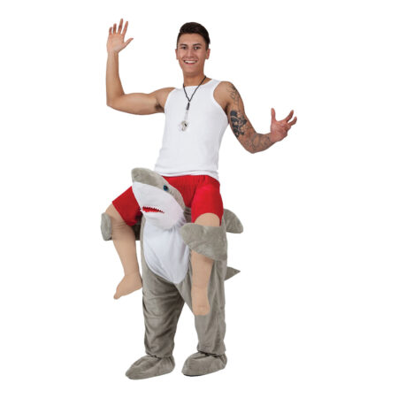 Carry me haj kostume 450x450 - Haj kostume til voksne