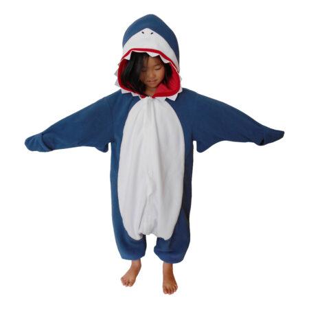 Haj kigurumi til børn haj heldragt 450x450 - Haj kostume til børn og baby