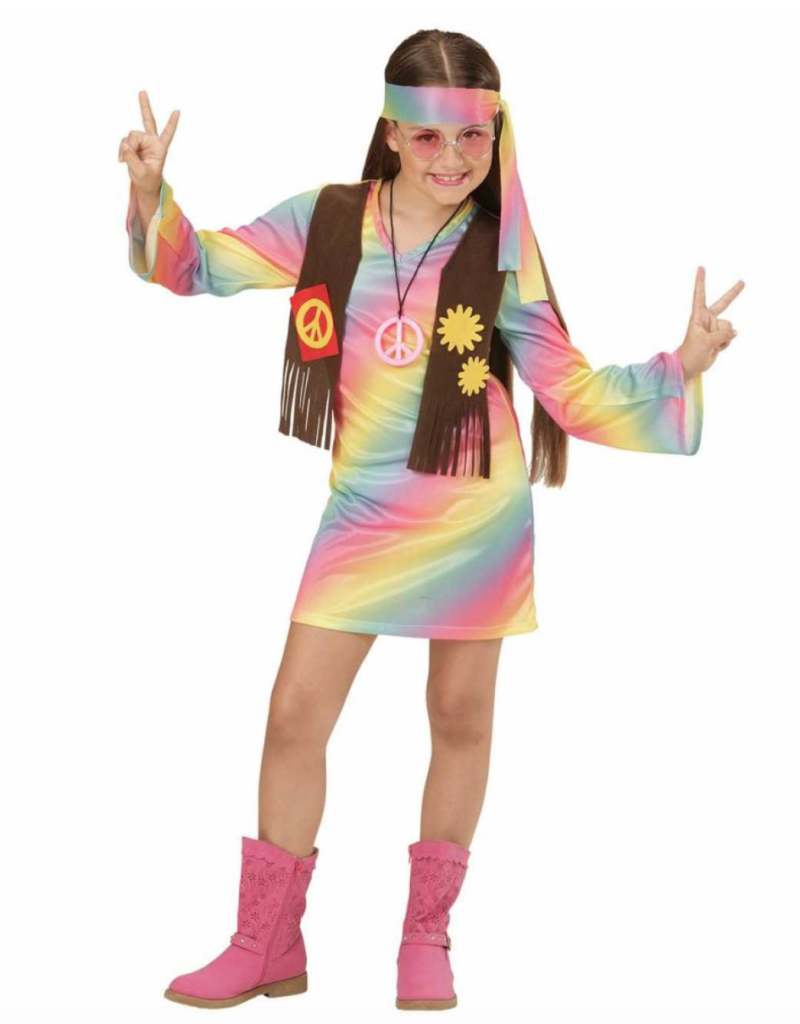 Hippie kostume til piger 800x1024 - Hippie kostume til børn