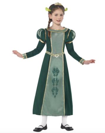 Prinsesse fiona kostume til børn 356x450 - Shrek kostume til børn