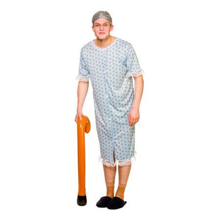 bedstemor kostume gammel kone kostume polterabend kostume