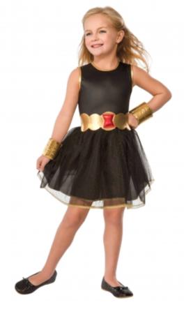 black widow kostume til børn black widow kostume til piger avengers kostume til piger black widow kjole