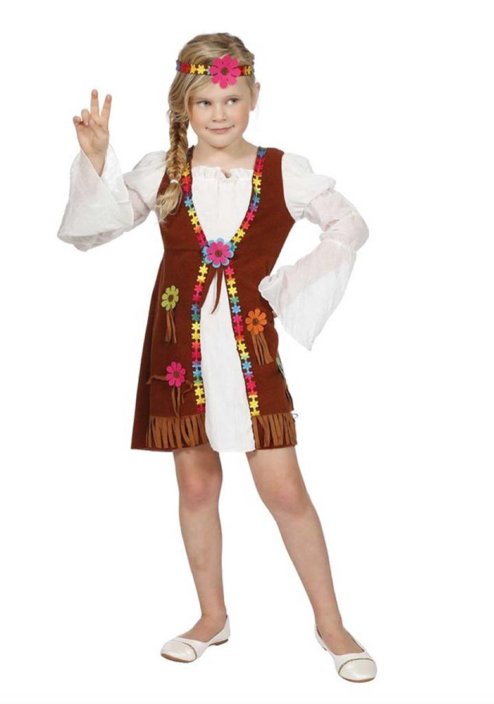 flower power børnekostume 719x1024 - Hippie kostume til børn