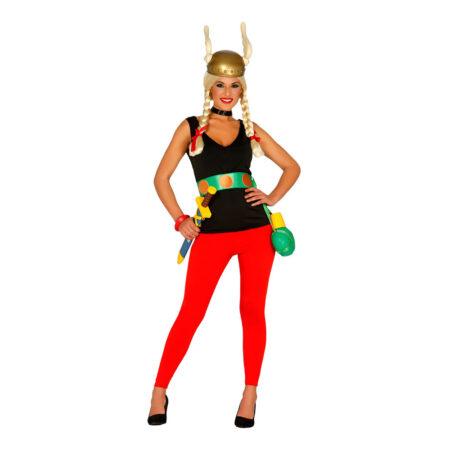 gallisisk kvinde kostume asterix kvinde kostume