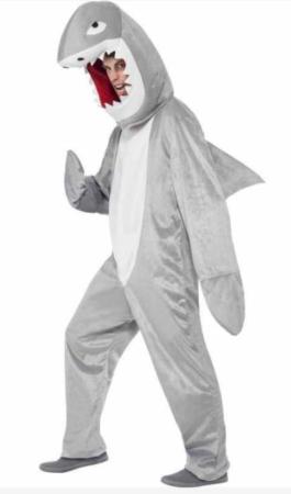 haj kostume heldragt kostume til voksne