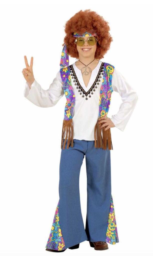 hippie dreng børnekostume 612x1024 - Hippie kostume til børn