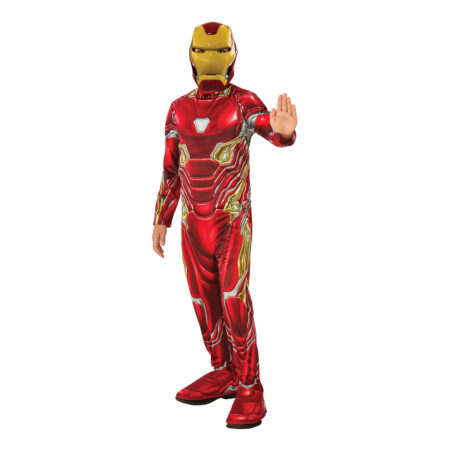 iron man kostume til børn endgame iron man børnekostume iron man kostume som i avengers endgame
