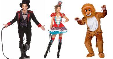 løvetæmmer kostume til voksne cirkus udklædning temafest kostume
