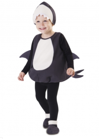 lille haj babykostume lille haj børnekostume