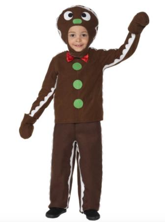 lille kagemand kostume til børn 336x450 - Shrek kostume til børn