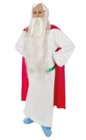 miraculix kostume til voksne asterix kostume