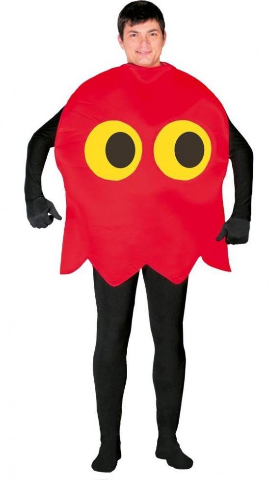 pacman spøgelse kostume - Pac-Man kostume til voksne