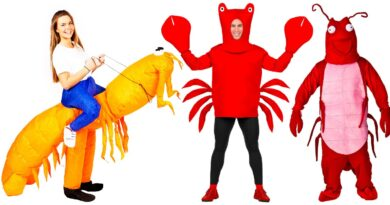 skaldyr kostume til voksne reje kostume krabbe kostume til voksne sebastian kostume til voksne hummer kostume til voksne