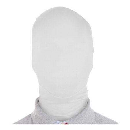 slenderman maske hvid
