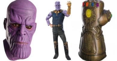 thanos skurk kostume til voksne avengers endgame kostume 390x205 - Thanos kostume til voksne