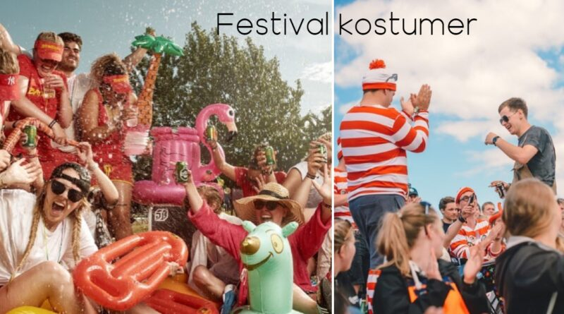 festival kostume festival lejr tema udklædning festival