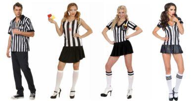 fodbolddommer kostume til voksne sportskostume til voksne