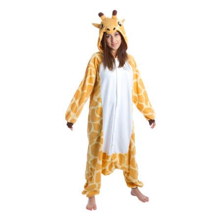 giraf kigurumi 450x450 - Giraf kostume til voksne