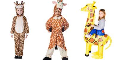 giraf kostume til børn, giraf udklædning til børn, giraf kostumer, giraf børnekostume, dyrekostumer til børn, nemme kostume til børn, giraf fastelavnskostume til børn
