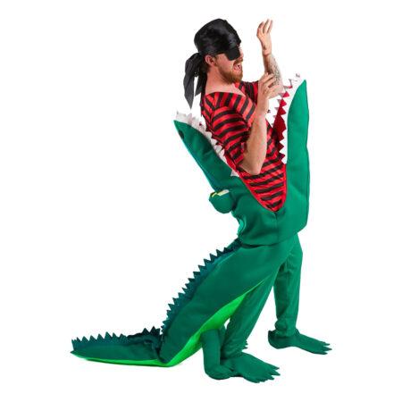 krokodille pirat kostume til voksne 450x450 - Krokodille kostume til voksne
