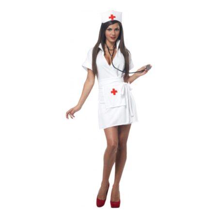 klassisk sygepleje kittel udklædning