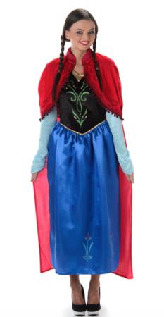 Frost Anna voksenkostume 233x450 - Frost Anna kostume til voksne