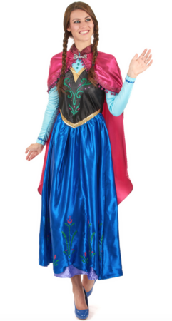 Frozen Anna udklædning til voksne 241x450 - Frost Anna kostume til voksne