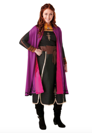 anna kostume fra frost 2 311x450 - Frost Anna kostume til voksne
