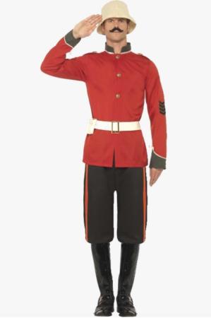 boer war soldat kostume 299x450 - Soldat kostume til voksne